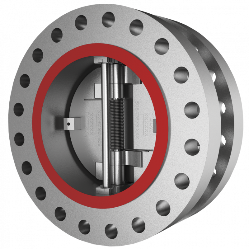 Proquip dual plate check valve