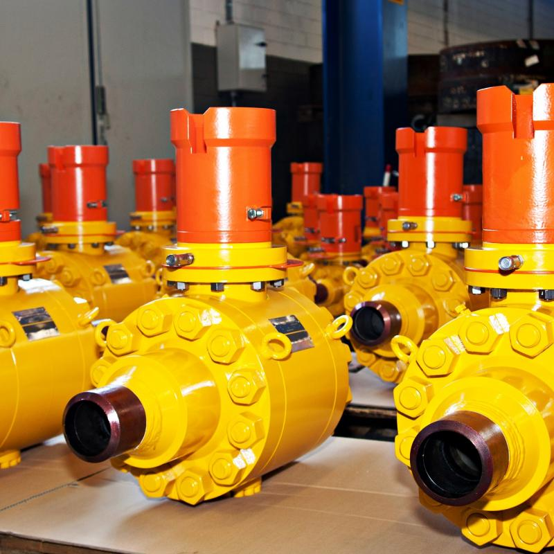 API 6DSS Subsea side entry ball valve 2 piece
