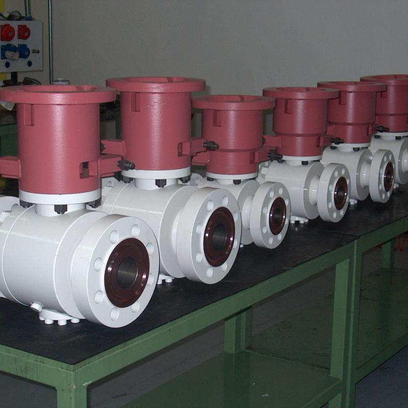 API 6DSS Subsea side entry ball valve