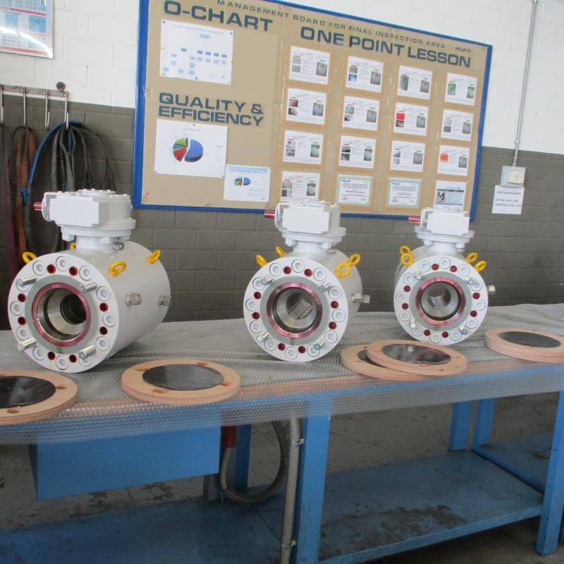 API 6D High pressure compact ball valve