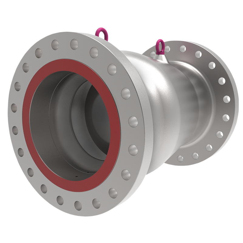 AXIAL NO-SLAM VALVE