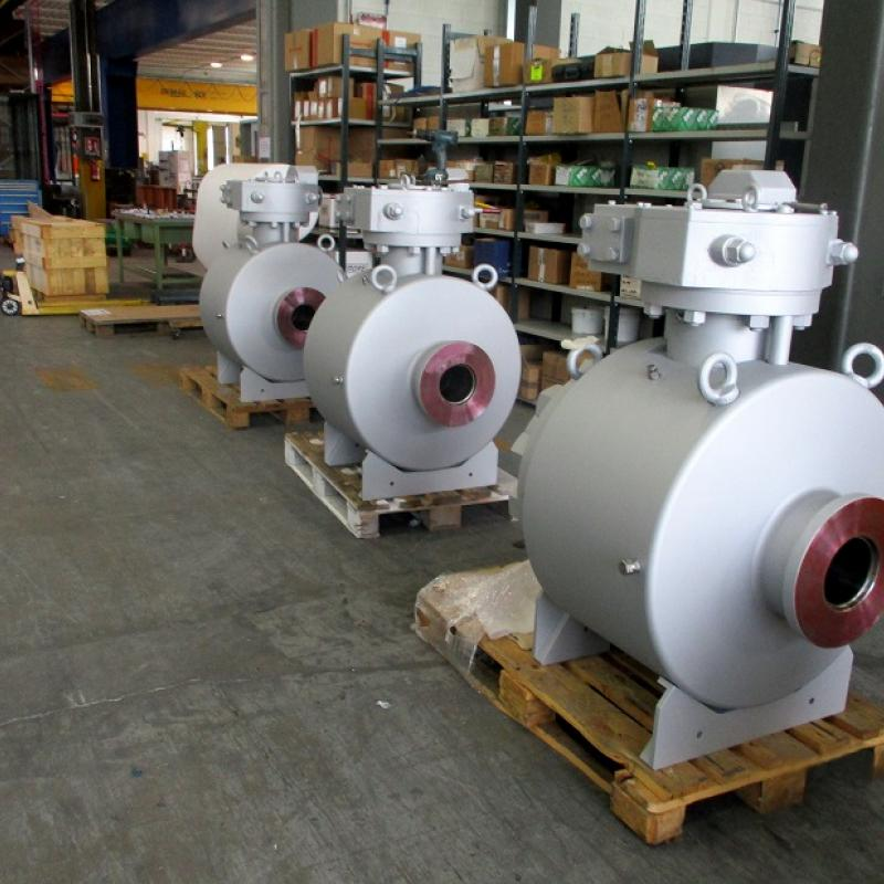 API 6A Side entry trunnion ball valves