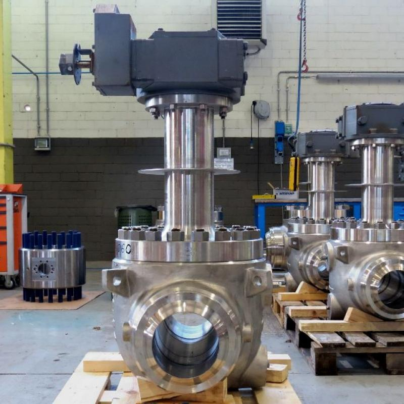 cryogenic top-entry ball valves